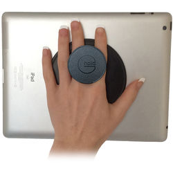 G-Hold Micro Suction Handgrip for Tablets and Other Devices (Black)