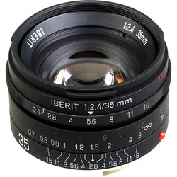 Handevision IBERIT 35mm f/2.4 Lens for Leica M (Black)