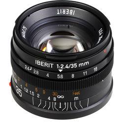 Handevision IBERIT 35mm f/2.4 Lens for Sony E (Black)