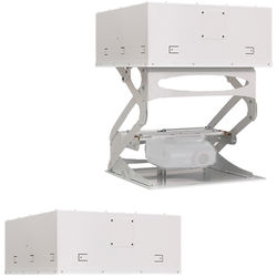 """Chief Smart-Lift Automated Projector Mount with Extended Downward Travel up to 36"""" (230V, White)"""