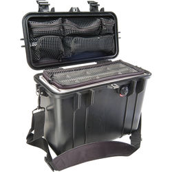 Pelican 1434 Top Loader 1430 Case with Photo Divider Set (Black)