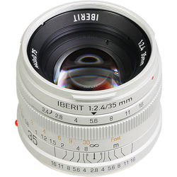 Handevision IBERIT 35mm f/2.4 Lens for Sony E (Silver)