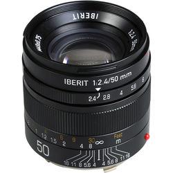 Handevision IBERIT 50mm f/2.4 Lens for Leica M (Black)