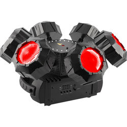CHAUVET DJ Helicopter Q6 - Rotating Multi-Effects Light with Laser (RGBW)