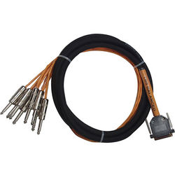 """Avid Technologies DB25-TRS DigiSnake DB25 to 8 x 1/4"""" TRS Snake Cable (12')"""