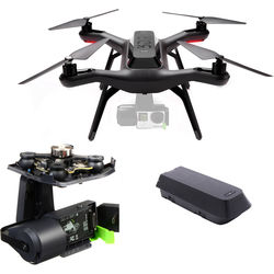3DR Solo Quadcopter Bundle with Gimbal for GoPro HERO3+ / HERO4 and Spare Battery