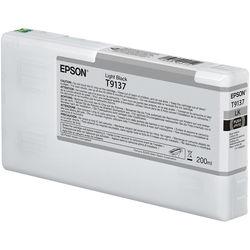 Epson T9137 UltraChrome HDX Light Black Ink Cartridge 200 ML