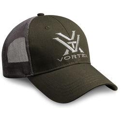Vortex Mesh Cap (Green/Gray)