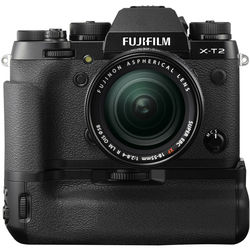 Fujifilm X-T2 Mirrorless Digital Camera with 18-55mm Lens and Battery Grip Kit