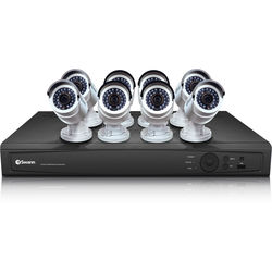Swann 16-Channel 3MP NVR with 3TB HDD and 8 3MP Outdoor Bullet Cameras Kit