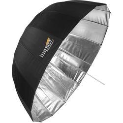 """Impact Small Deep Silver Umbrella ( 33"""")"""