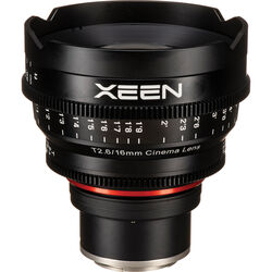 Rokinon Xeen 16mm T2.6 Lens (Sony E)