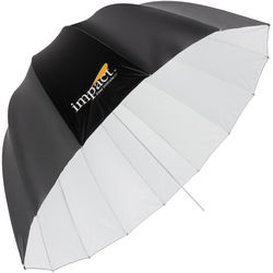 "Impact Medium Deep White Umbrella (41"")"