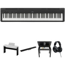 Kawai ES 110 Portable Digital Piano Kit with Stand, Pedal, Bench, and Headphones