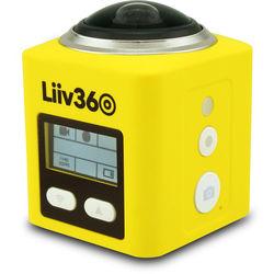 Liiv360 Action Camera (Yellow)