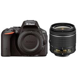 Nikon D5500 DSLR Camera with AF-P 18-55mm Lens (Black)