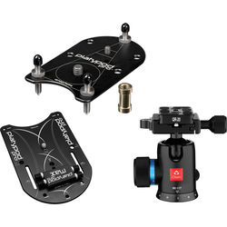 Platypod Max Camera Support and Platypod Pro Deluxe Camera Support Kit with Oben BE-117 Ball Head