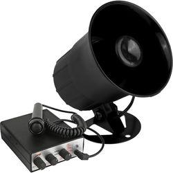 Pyle Pro PSRNTK28 Siren Horn Speaker with Handheld PA Microphone