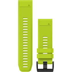 Garmin QuickFit 26 Silicone Watch Band (Amp Yellow)