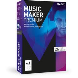 MAGIX Entertainment Music Maker Premium - Music Production Software (5-99 Tier Site-License, Download)