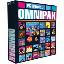PG Music Band-in-a-Box 2017 OMNIPAK for Windows with USB Hard Drive