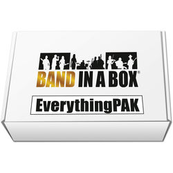 eMedia Music PG Music Band-in-a-Box 2017 EverythingPAK - Backing Band / Accompaniment Software (Windows, Download)