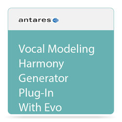 Antares Audio Technologies Harmony Engine Evo - Vocal Modeling Harmony Generator Plug-In (Download)