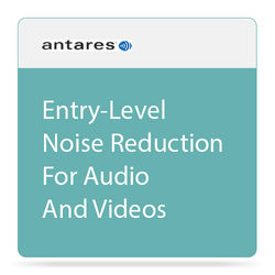 Antares Audio Technologies SoundSoap Solo 5 Essential Audio Restoration and Noise Reduction Software (Download)