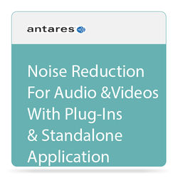 Antares Audio Technologies SoundSoap 5 Audio Restoration and Noise Reduction Software (Download)