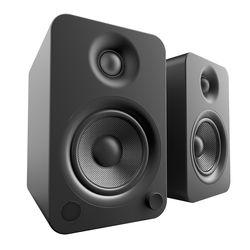 Kanto Living YU4 2-Way Powered Bookshelf Speakers (Pair, Onyx)
