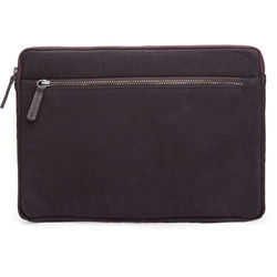 Cecilia Gallery Waxed Cotton Sleeve for iPad 2 (Espresso)