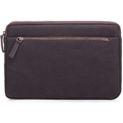 Cecilia Gallery Waxed Cotton Sleeve for iPad mini 4 (Espresso)
