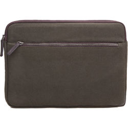 Cecilia Gallery Waxed Cotton Sleeve for iPad mini 4 (Pine)