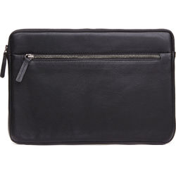 Cecilia Gallery Montana Leather Sleeve for iPad 2 (Black)