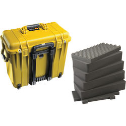 Pelican 1440 Top Loader Case with Foam (Yellow)