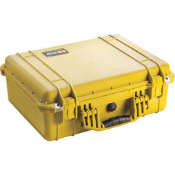 Pelican 1520NF Case without Foam (Yellow)