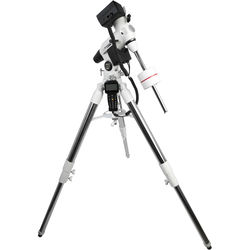 Explore Scientific EXOS-2GT Motorized Equatorial GoTo Mount with Tripod (White)