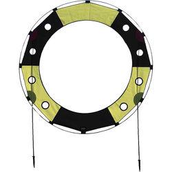 Premier Kites & Designs FPV Key Hole Gate (5', Black/Yellow)