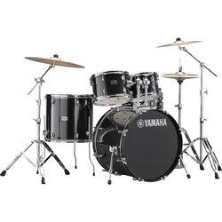 Yamaha RDP2F5 Rydeen Drum Kit (Black Glitter)