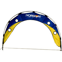 Premier Kites & Designs FPV Racing Drone Fly Under Arch (5 x 3', Blue/Yellow)