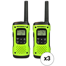 Motorola T600 Two-Way Radio Kit (6-Pack)