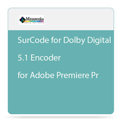 SurCode SurCode for Dolby Digital 5.1 Encoder for Adobe Premiere Pro - Plug-In