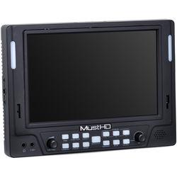 "MustHD M702S 7"" 1920 x 1200 Full HD 3G-SDI/HDMI On-Camera Monitor"