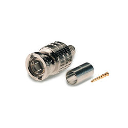 Canare BCP-A5 75-Ohm BNC Crimp Plug for L-5C2VS, L-5C2V, and V-5C Cables (Straight Type)