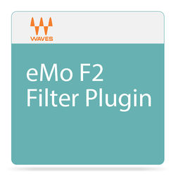Waves eMo F2 - High and Low-Pass Filter Plug-In (Native/SoundGrid, Download)