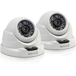 Swann 4MP Outdoor Network Turret Camera with Night Vision (2-Pack)