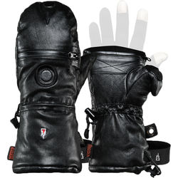 The Heat Company Shell-Full Leather Mittens (Size 8)