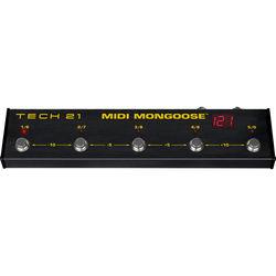 TECH 21 MIDI Mongoose Foot Controller for Stage, Studio, DJ Decks & Lighting