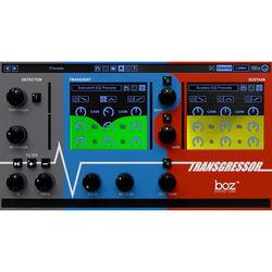 BOZ DIGITAL Transgressor - Drum EQ and Transient Shaper Plug-In (Download)