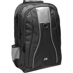 CTA Digital Universal Gaming Backpack for Consoles (Black/Gray)
